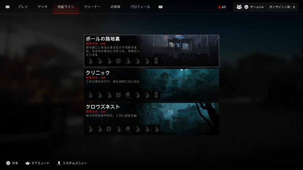 Back 4 Blood_供給ライン